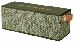Fresh 'N Rebel Rockbox Brick Fabriq Edition Bluetooth Speaker DarkGreen (1RB3000AR)