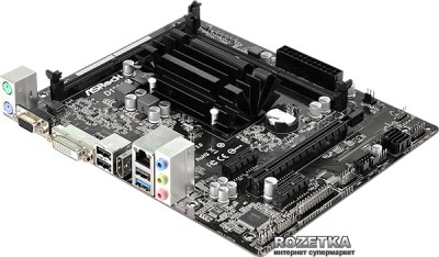 Материнська плата ASRock D1800M (Intel Dual-Core J1800, SoC, PCI-Ex16)