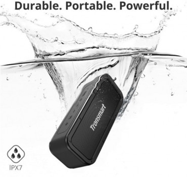 Акустична система Tronsmart Element Force Waterproof Portable Bluetooth Speaker Black (FSH77680)