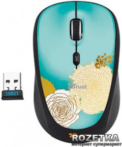 Мышь Trust Yvi Wireless Mixed Flower (TR19521)