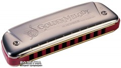 Губная гармошка Hohner Golden Melody F