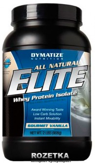 Протеин Dymatize Nutrition Elite Natural 908 г Gourmet Vanilla (705016433353)