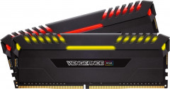 Оперативная память Corsair DDR4-3000 16384MB PC4-24000 (Kit of 2x8192) Vengeance RGB Black (CMR16GX4M2C3000C15)