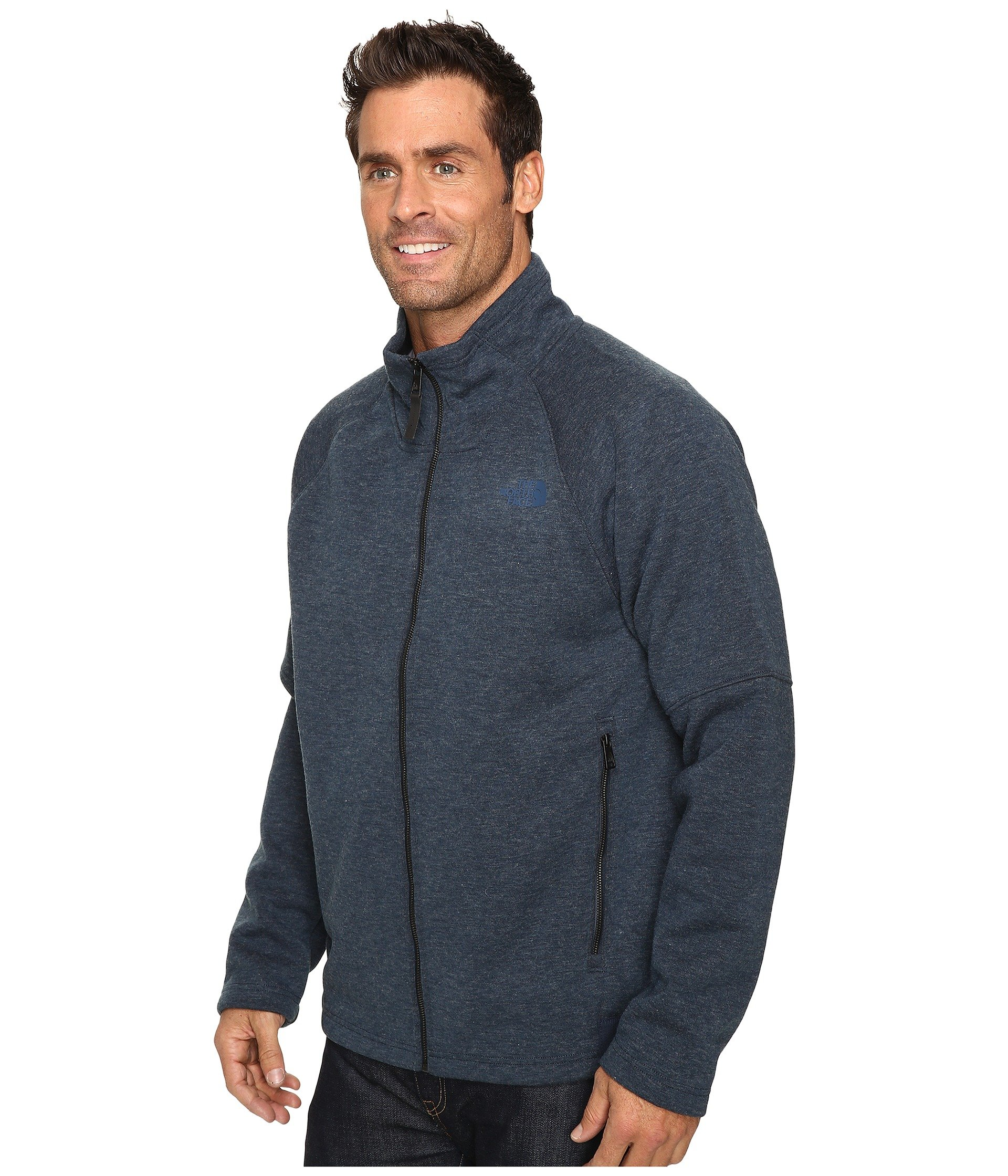 08bf1c5bb Свитер The North Face Trunorth Full Zip Urban Navy Heather/Urban Navy , L  (10081124)