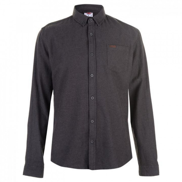 Рубашка Lee Cooper Flannel Grey, S (10076485)