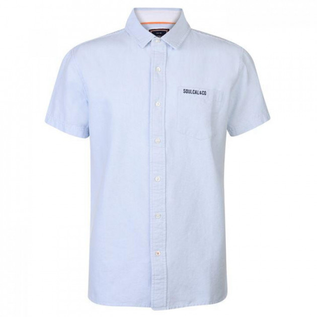 Рубашка SoulCal Deluxe Oxford Blue, XL (10077390)