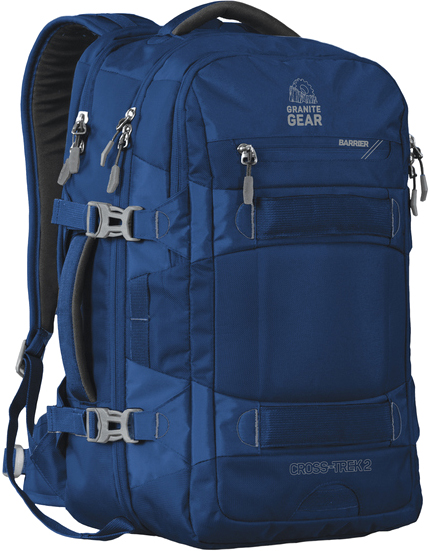 Рюкзак городской Granite Gear Cross Trek 2 36 л Midnight Blue/Flint (926087)