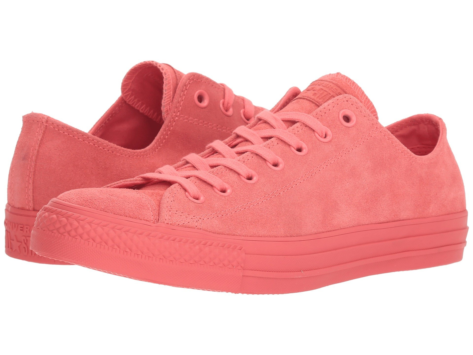 be0d5c58dae9 Кеды Converse Chuck Taylor® All Star® Ox - Mono Suede Punch Coral, 39.5