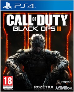 Игра Call of Duty: Black Ops III для PS4 (Blu-ray диск, Russian version)