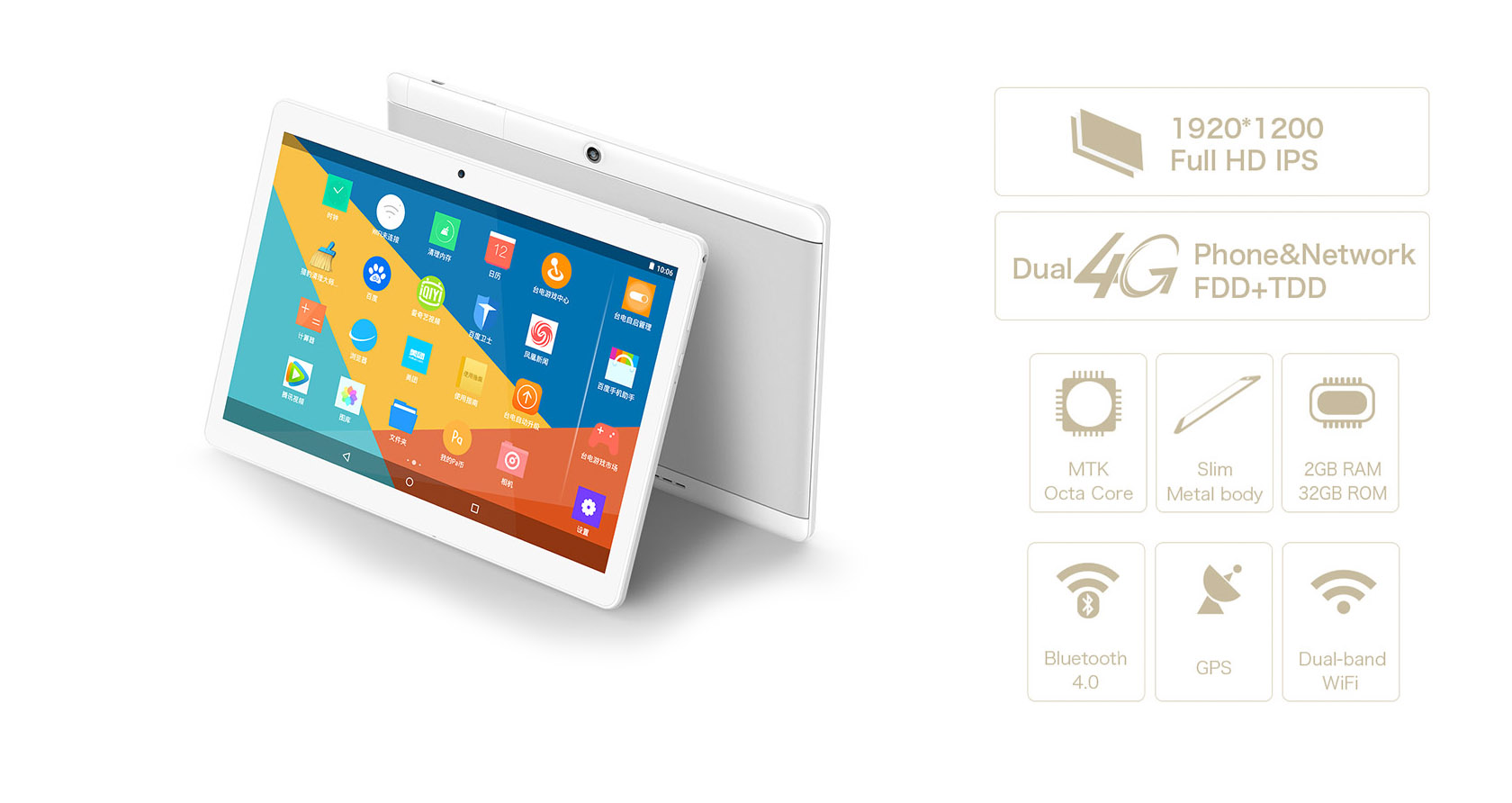 "Teclast 98 Octa Core 10.1"" 32GB (T98Octa Core)"
