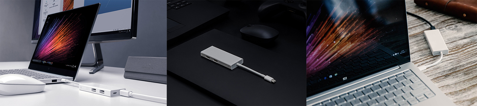 Xiaomi USB Type-C — Mini DisplayPort / USB Type-A
