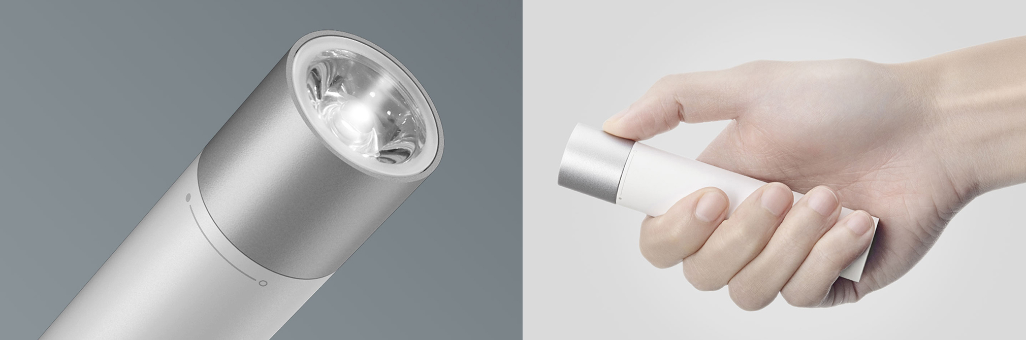 Xiaomi Mi Power Bank 3350 mAh Portable Flashlight