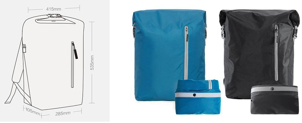 Xiaomi 90FUN Colorful Sport Foldable Backpack