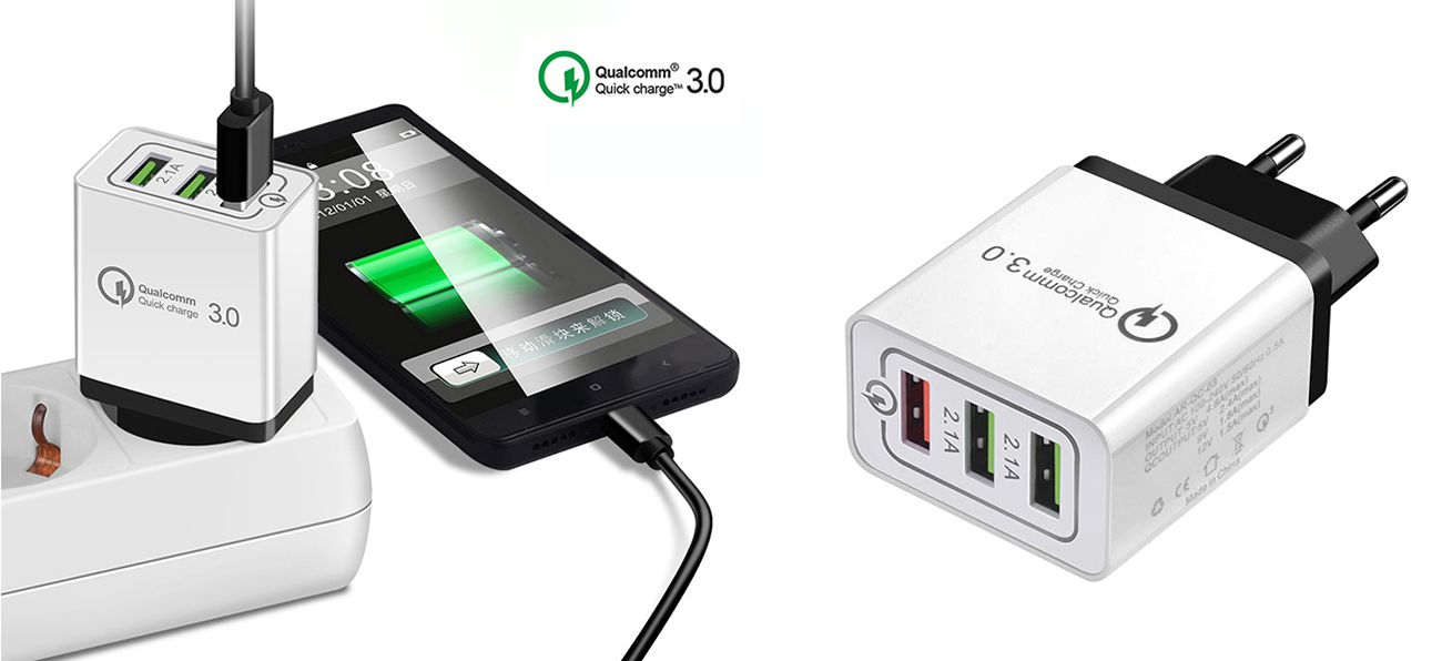 Qualcomm Quick Charge 3.0 4.8 A