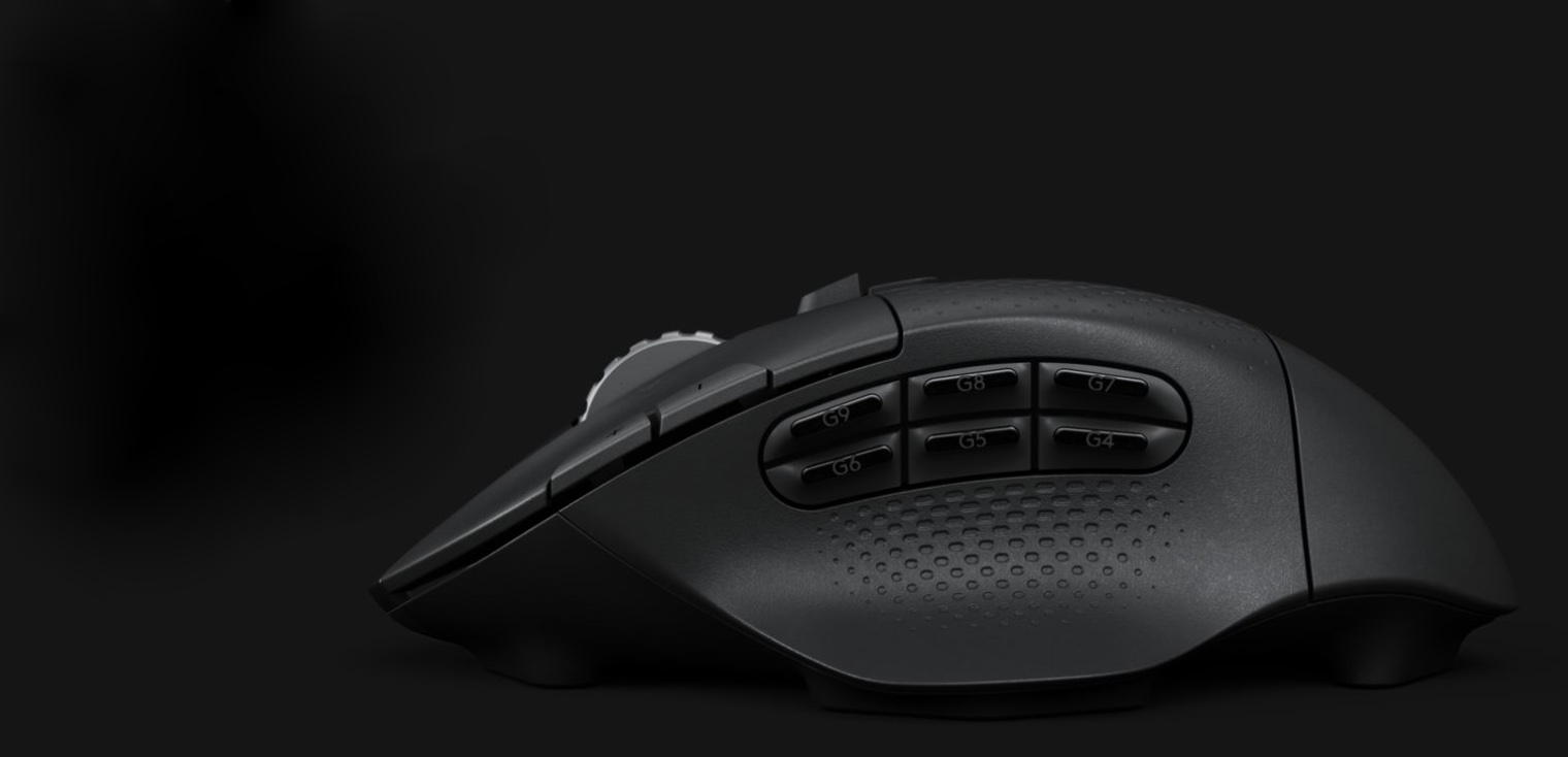 Logitech G604 Wireless Gaming Mouse Lightspeed