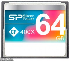 Silicon Power Compact Flash 64GB 400x (SP064GBCFC400V10)