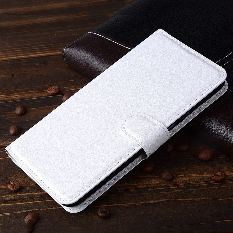 Чехол-книжка Litchie Wallet для Alcatel U5 5044 5047 4047 White (lwwh0004)