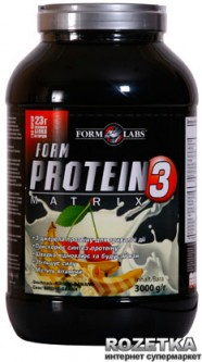 Протеин Form Labs Protein Matrix 3 3000g Вишня-банан (4018209100137)