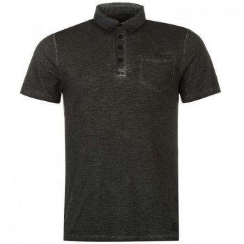 Поло Firetrap Blackseal Oil Seer Polo Charcoal, S (10074149)