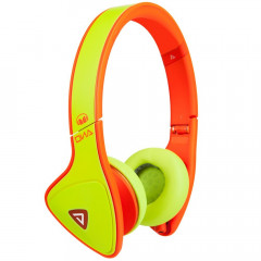 Наушники Monster DNA On-Ear Headphones Yellow/Neon Orange