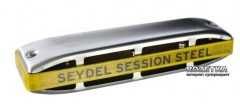 Губная гармошка Seydel Session Steel C Summer Edition (10301C_S)