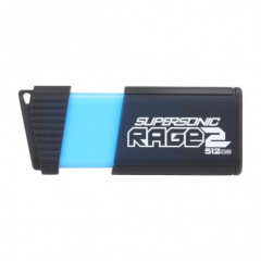 USB флеш накопитель 512Gb Patriot Supersonic Rage 2 (PEF512GSR2USB) Black/Blue