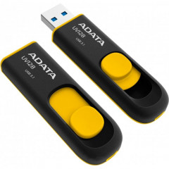USB флеш накопитель 16Gb A-Data UV128 (AUV128-16G-RBY) Black/Yellow